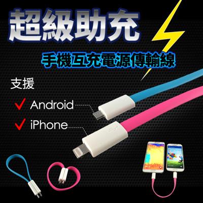 手機互充電源傳輸線 (1.9折)