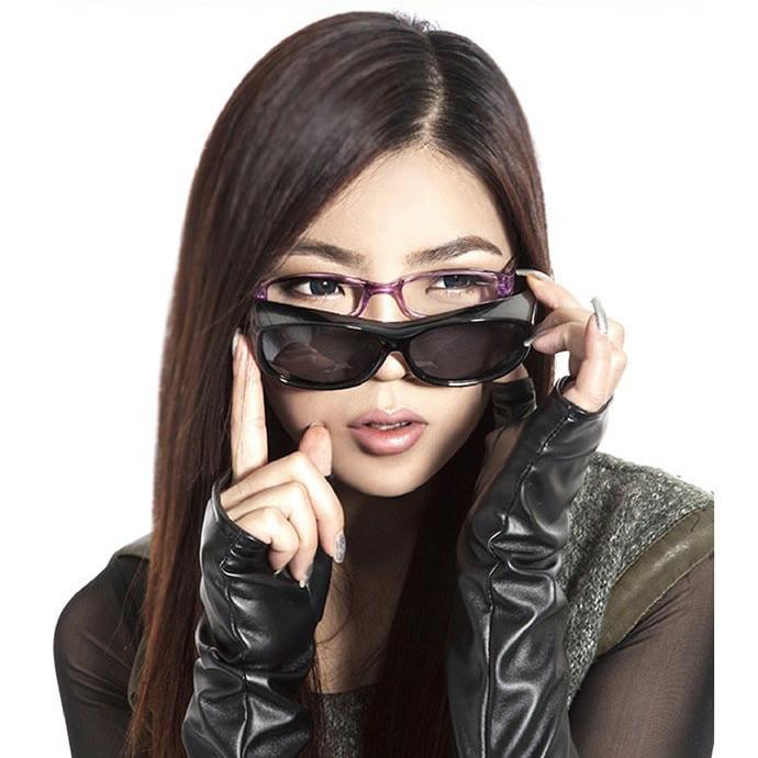 防風偏光級太陽套鏡贈眼鏡盒