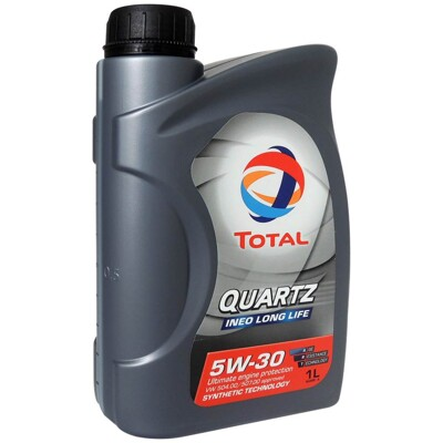 道達爾 TOTAL QUARTZ INEO LONGLIFE 5W30 長效全合成機油 汽柴油引擎機 (6折)