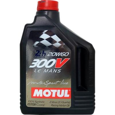 魔特 MOTUL 300V LeMans 20W-60 雙酯全合成競技級機油(2L裝) (9.3折)