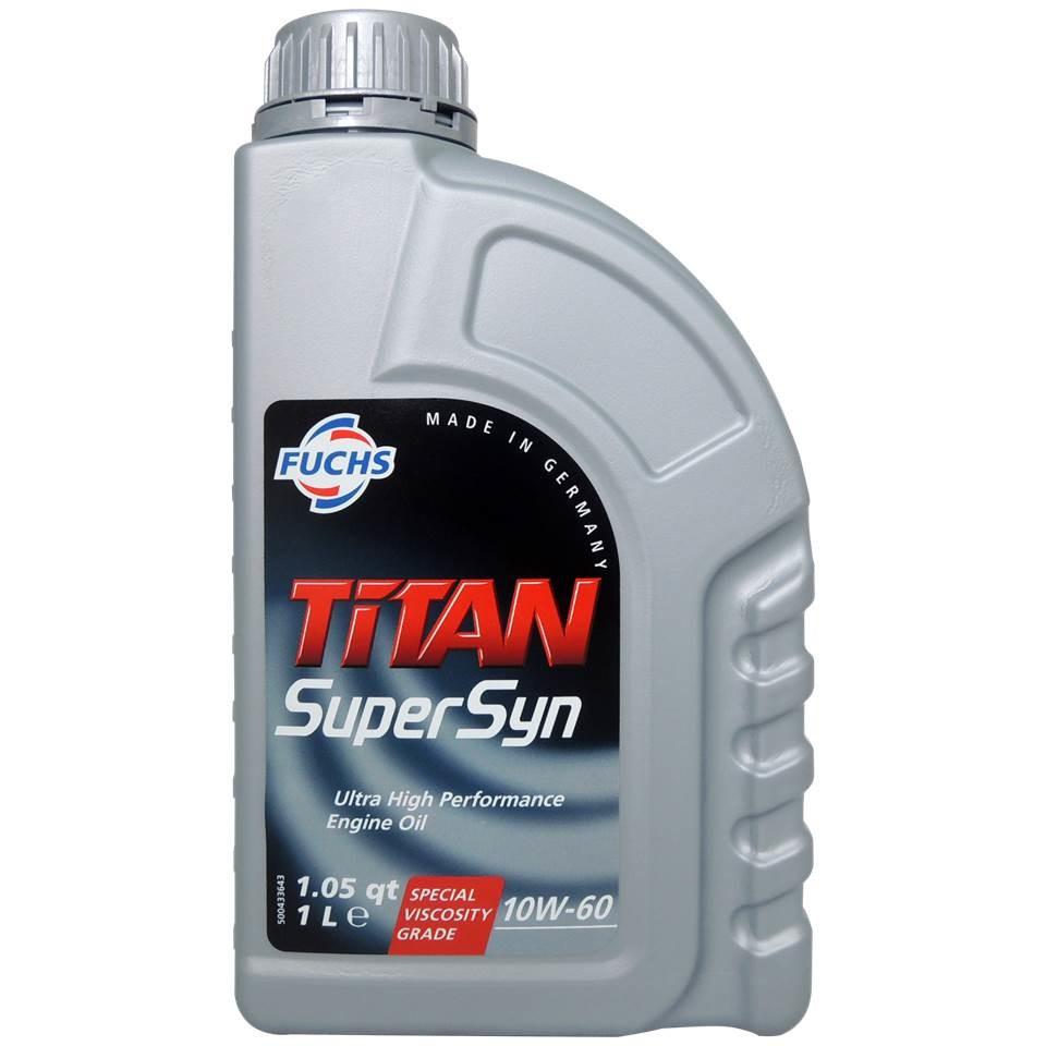 福斯 fuchs titan supersyn 10w60 全合成長效機油