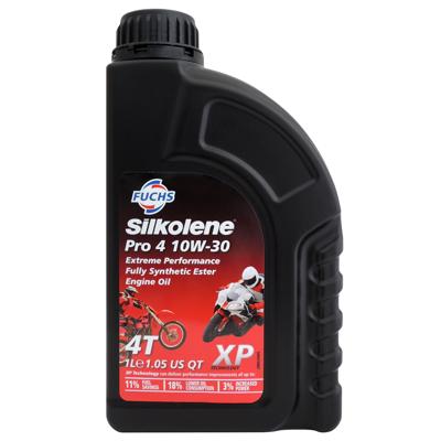 福斯 Fuchs Silkolene(賽克龍) PRO 4 10W30 XP 酯類全合成機油 機車機 (7折)