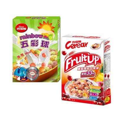 【喜瑞爾】五彩球160g+蔓越莓果麥320g (7折)