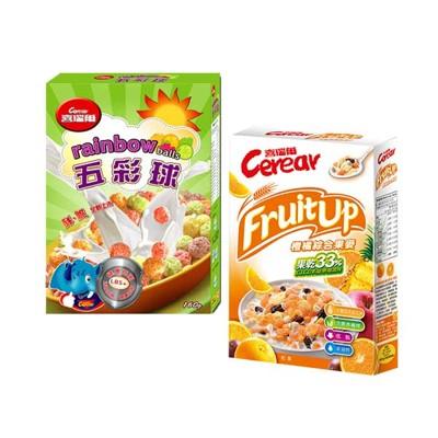 【喜瑞爾】五彩球160g+橙橘果麥320g (7折)