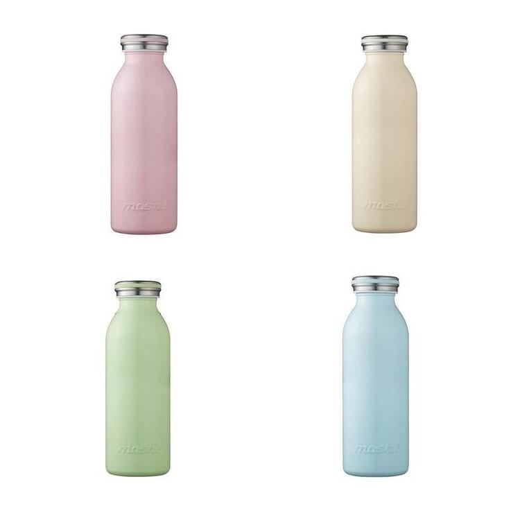 日本mosh!牛奶系保溫瓶 (350ml)