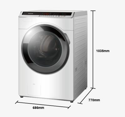 panasonic國際牌 14公斤變頻滾筒洗衣機 na-v140hw-w (9.6折)