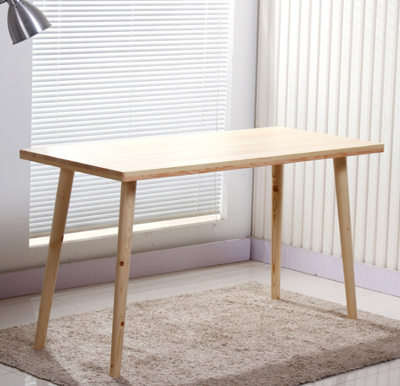 120*50*75cm 桌子 書桌 日式實木書桌電腦桌 現代簡約雙人辦公桌 寫字臺家用松木學習桌北歐 (8折)