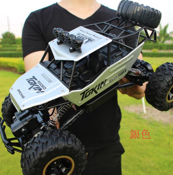 攀爬車 越野車 玩具車 遙控車 合金版 超大遙控越野車 四驅 充電 高速攀爬大腳賽車兒童玩具汽車模型