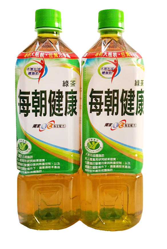 每朝健康綠茶 900ml*12入/箱