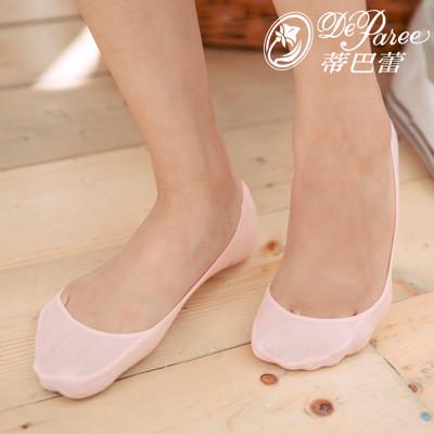 蒂巴蕾淺口foot wear素面超低止滑襪套 (2.6折)
