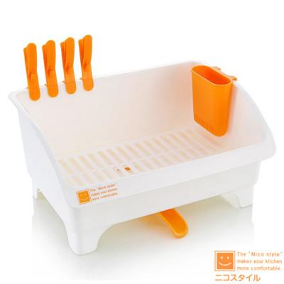 日本製造 多功能收納碗盤滴水架IN-0082 (8.6折)