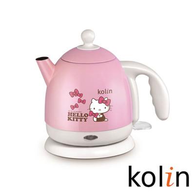 Kolin歌林 x Hello Kitty 1.0L不鏽鋼快煮壺 CKPK-MNR1041 (8.1折)