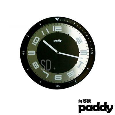 【台菱PADDY】超薄金屬機殼靜音掛鐘(AGP-3085-4) (7.6折)