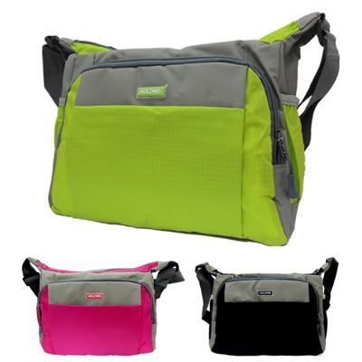 AOLONG 運動風輕巧斜背包側背包 V-938 (共三色 桃紅/黑色/綠色) (3折)
