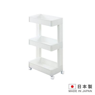 日本製造 3層置物附輪櫃(窄版) SAN-F2593 (5.9折)