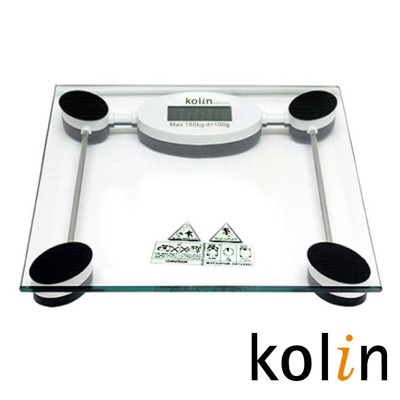 Kolin 歌林 玻璃電子秤KWN-SH06 (7.4折)