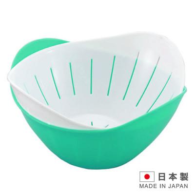 HANAGATA 花型瀝水置物籃組840ml (顏色隨機出貨) D5337 (7.6折)