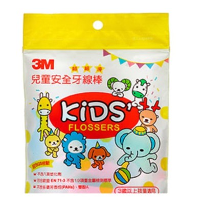 3M兒童牙線棒(38支) (7.7折)