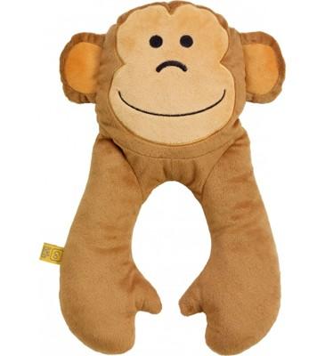 【Go Travel】動物造型U型枕-猴子 (10折)