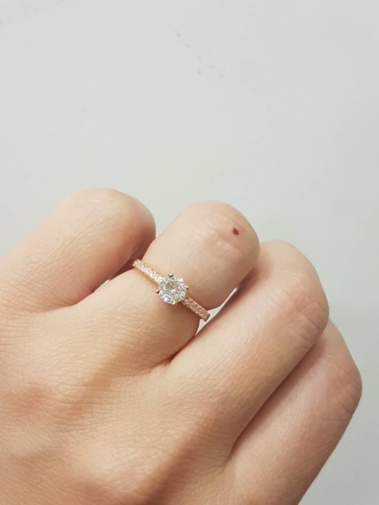 mimi香港香港正生純銀戒指