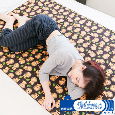 【米夢家居】台灣製造-全方位超防水止滑保潔墊/生理墊/尿布墊(單人105x144cm)-叢林獅子 (7.9折)