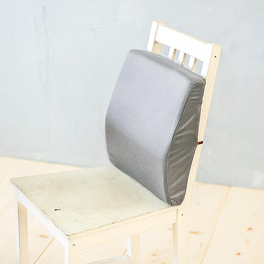 凱蕾絲帝台灣製造-完美承壓超柔軟記憶護腰墊-淺灰