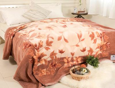 【米夢家居】鳴球100%澳洲美麗諾拉舍爾-純羊毛毯(200*230CM)-山戀茶花 (4.9折)