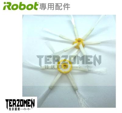 【Terzomen 特沃國際】iRobot Roomba 掃地機器人副廠適用六腳邊刷 (8折)
