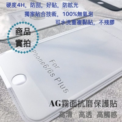 【MACK嚴選】 IPHONE AG霧面 抗刮鋼化膜 (6折)