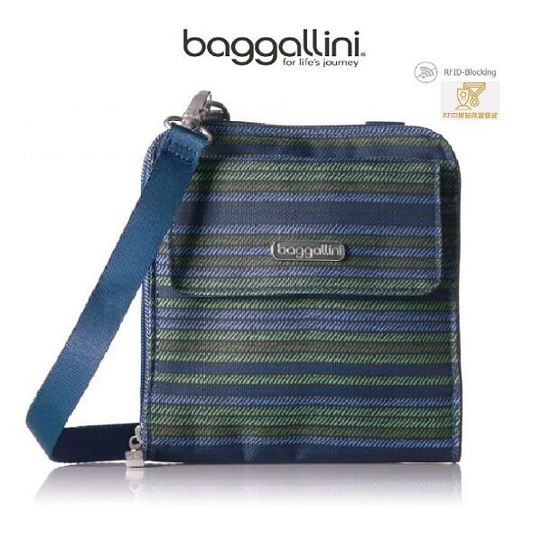 時尚流行美國baggllini rfid系列 旅行護照斜背包 防盜斜背包/rfid防側錄