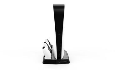 PS5  周邊 全新 現貨不用等  配件上市 PS5充電散熱座 KJH 新型 (8.5折)