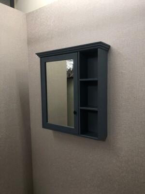 鏡櫃 鏡箱 鏡子 單門 浴室 寬70CM 高80CM 收納浴室不雜亂 PVC防水發泡板 緩降靜音 (7.6折)
