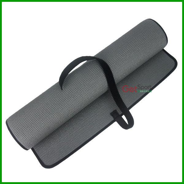 瑜珈墊(包邊鐵灰)(6mm/止滑瑜伽墊/運動墊)