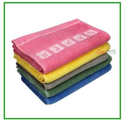 純棉運動毛巾(長版)(擦汗巾/運動巾/吸汗/吸水/多色可選) (5折)