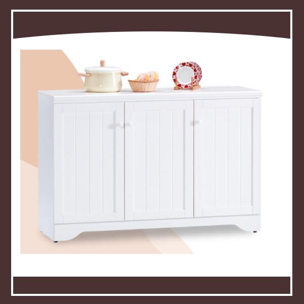 葛妮絲純白4尺餐櫃 21152475004