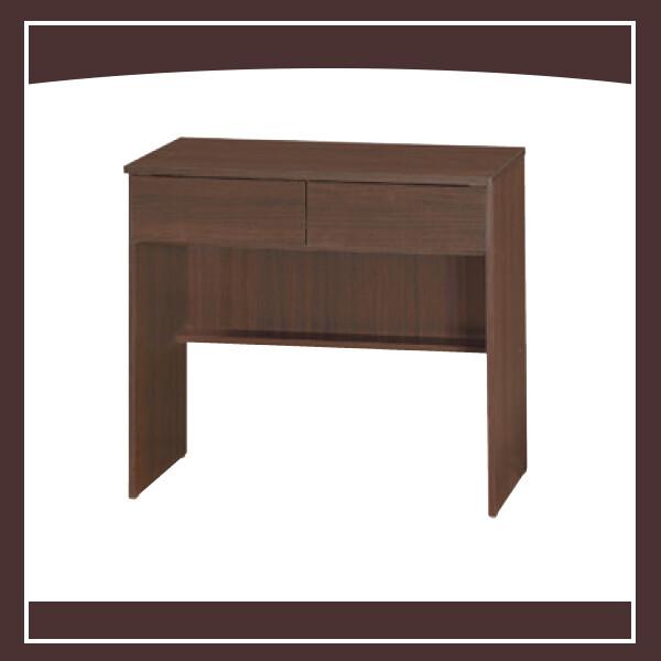 胡桃可愛2.7尺二抽書桌 21102652271