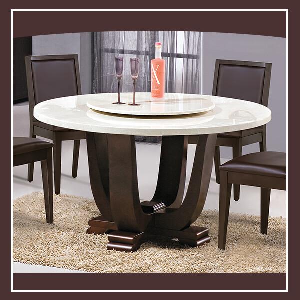艾特4.2尺石面圓餐桌 21195454001