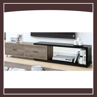 肯特古橡色4尺伸縮電視櫃 21195310002 (9.3折)