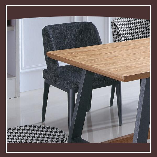 艾倫深色布餐椅 21152490005