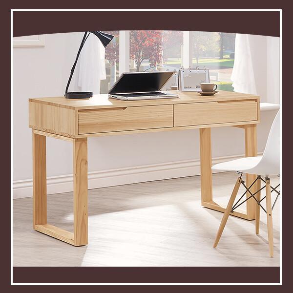 羅本北歐實木4尺書桌 21195495001