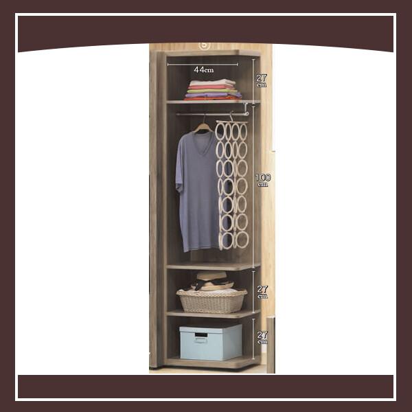 肯恩1.5尺開放衣櫃 21058103007