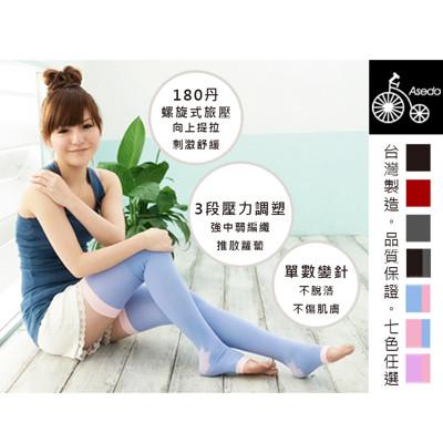 《久站族必備》夜寢纖腿按摩舒壓大腿襪 (1/2/4/6件任選) (3.3折)