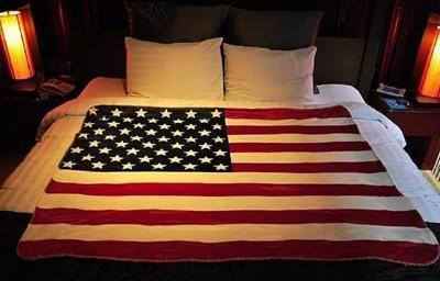 美國/英國國旗唯美時尚毯 (3.5折)