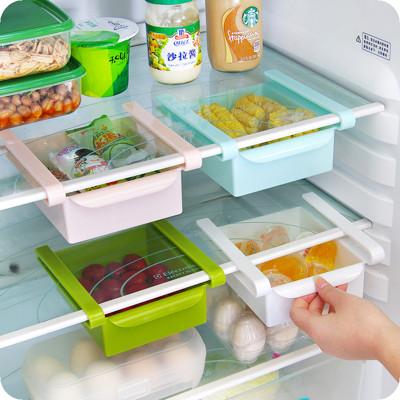 【買一送一】冰箱保鮮多用收納架置物架
