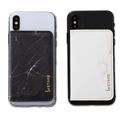 [imstone石革皮件] 手機防盜石革卡套-磁吸式