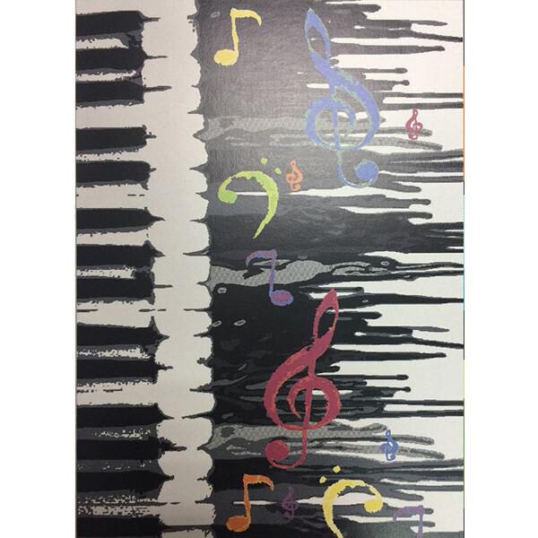 范登伯格 普利活潑色彩地毯-琴鍵-140x195cm