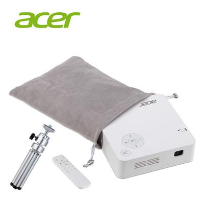 宏碁 acer c202i 行動電源led微型投影機 (8.4折)