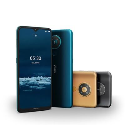●送立架● 諾基亞 Nokia 5.3 6.55吋雙卡大螢幕智慧型手機 (10折)