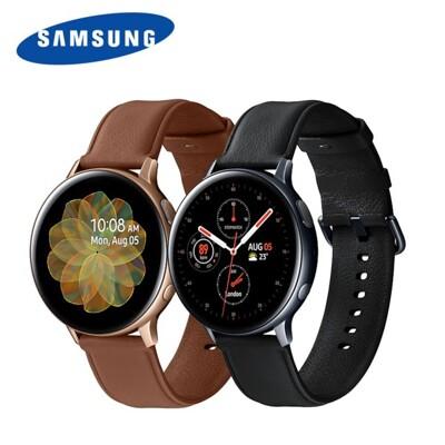 samsung galaxy watch active2 44mm 不鏽鋼版 智慧型手錶 (8.3折)