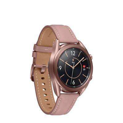 送無線閃充充電板 samsung galaxy watch3 41mm 藍牙版 智慧型手錶 (9.5折)